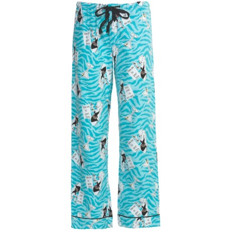 P.J. Salvage Working Girls Pajama Bottoms - Cotton Flannel (For Women)