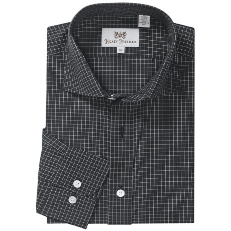 Hickey Freeman Gingham Check Sport Shirt - Long Sleeve (For Men)