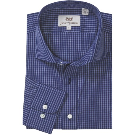 Hickey Freeman Multi-Check Sport Shirt - Long Sleeve (For Men)