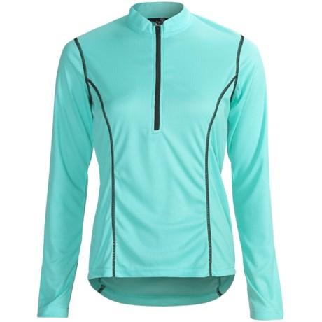 Canari Velocity II Cycling Jersey - UPF 30, Zip Neck, Long Sleeve (For Women)