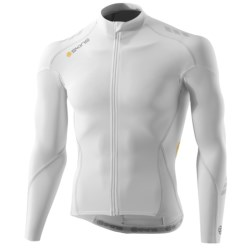Skins C400 Compression Cycling Jersey - UPF 50+, Full Zip, Long Sleeve(For Men)