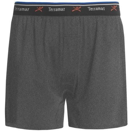 Terramar Pro-Jersey Boxers - Loose Fit (For Men)