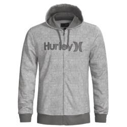 Hurley Stratus Hoodie Sweatshirt - Full Zip (For Men)
