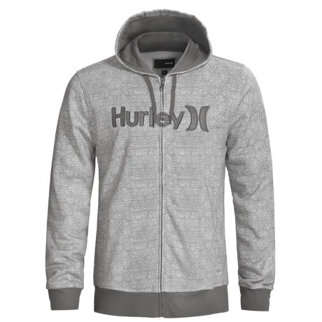Hurley Stratus Hoodie Sweatshirt - Full Zip (For Men)