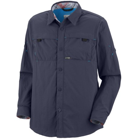 Columbia Sportswear Silver Ridge Mini Rip Shirt - UPF 30 (For Youth Boys)