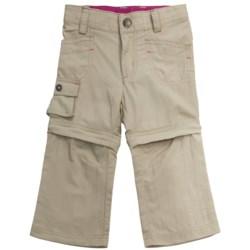 Columbia Sportswear Silver Ridge Convertible Pants - UPF 30 (For Toddler Girls)