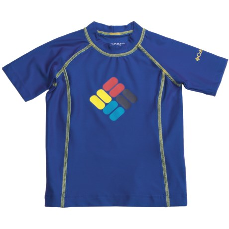 Columbia Sportswear Suns Out Sunguard Shirt - UPF 50, Short Sleeve (For Little Boys)