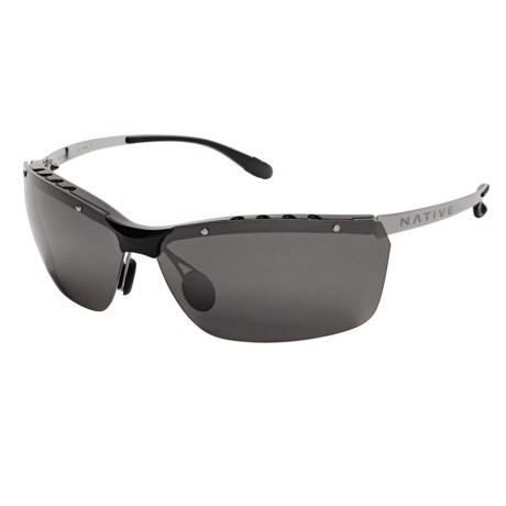 Native Eyewear Larimer Sunglasses - Polarized Reflex Lenses