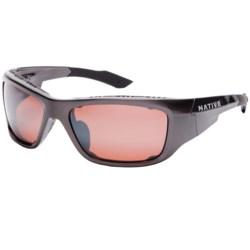 Native Eyewear Grind Sunglasses - Polarized Reflex Lenses, Interchangeable