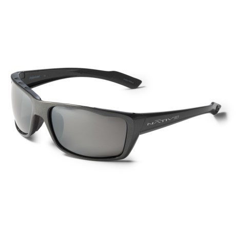 Native Eyewear Wazee Sunglasses - Polarized Reflex Lenses