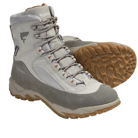 Simms Flats Wading Boots - Lugged Sole (For Men and Women)