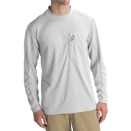 Simms Cocona® Crew Neck Shirt - UPF 50+, Long Sleeve (For Men)