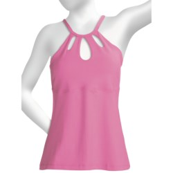Body Up Keyhole Tank Top (For Women)
