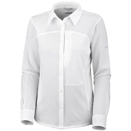 Columbia Sportswear Silver Ridge Stretch Knit Pique Shirt - UPF 30, Long Sleeve (For Women)
