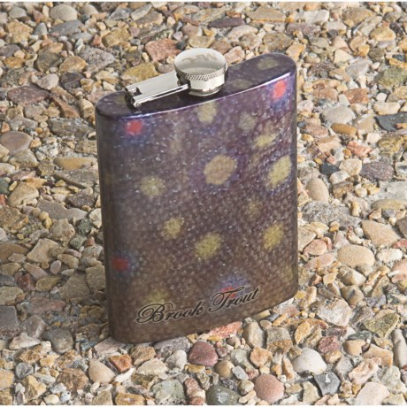 Montana Fly Company Stainless Steel Hip Flask