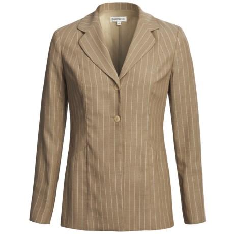Barry Bricken Wool Blend Blazer (For Women)