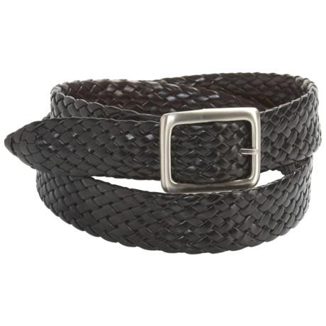 Carhartt American Endurance Reversible Braided Belt - Leather (For Men)