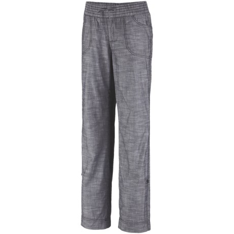 Columbia Sportswear Shakedown Chambray Pants - Roll-Up Legs (For Women)