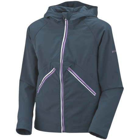 Columbia Sportswear Amber Sparkle Jacket - Soft Shell (For Girls)