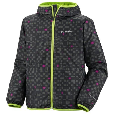 Columbia Sportswear Pixel Grabber Wind Jacket (For Kids)