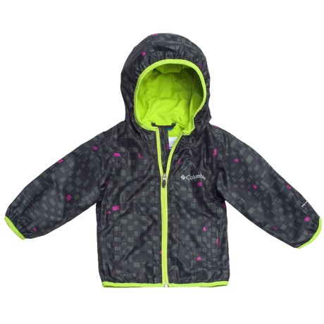 Columbia Sportswear Pixel Grabber Wind Jacket (For Toddlers)