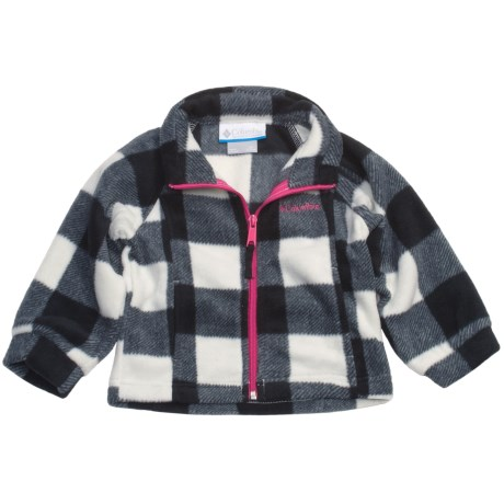 Columbia Sportswear Benton Springs Printed Jacket - Fleece (For Toddler Girls)