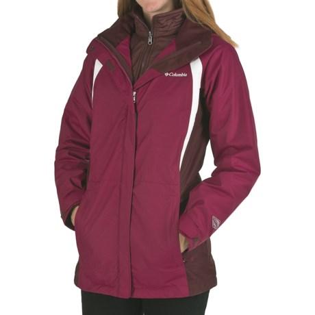 Columbia Sportswear Snowy Ridge 3-in-1 Parka (For Women)