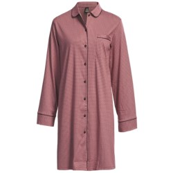 Calida Ingrid Cotton Big Shirt - Long Sleeve (For Women)