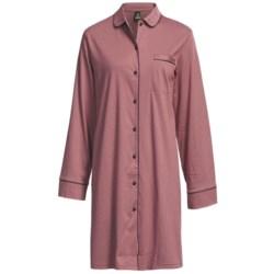 Calida Ingrid Cotton Big Shirt - Long Sleeve (For Women)