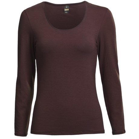 Calida Comfort Single-Jersey Cotton Top - Long Sleeve (For Women)
