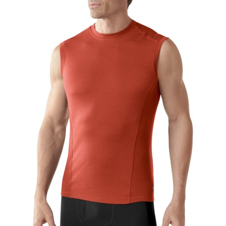 SmartWool NTS Base Layer Top - Merino Wool, Lightweight, Sleeveless (For Men)