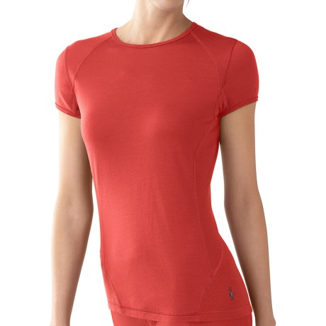 SmartWool NTS Base Layer T-Shirt - Merino Wool, Lightweight, Short Sleeve (For Women)