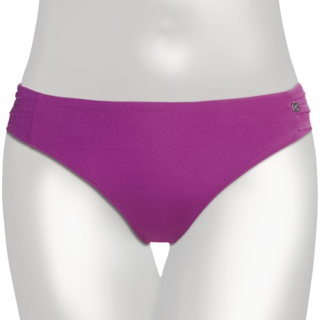 Calida Sirena Swimsuit Bottoms - Ruched Sides (For Women)