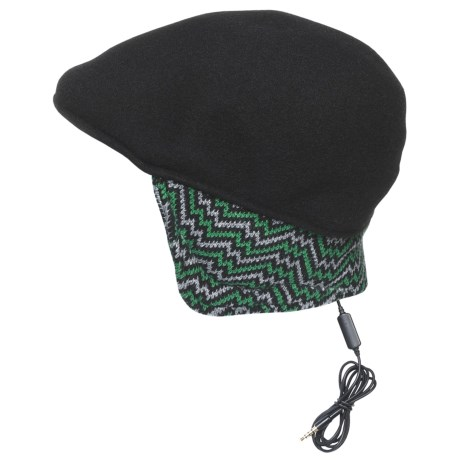Kangol Aerial7 507 Ear Flap Hat - Wool Blend (For Men and Women)