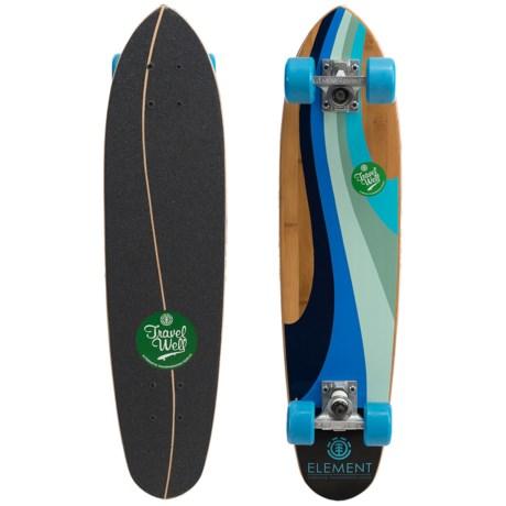 """Element Daytripper Strata Complete Cruiser Skateboard - 7.12x29.6"""""""