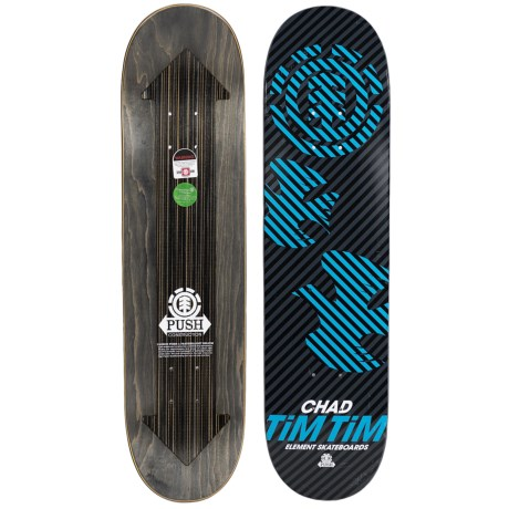 "Element Tim Tim Skateboard Deck - 7.5x31"""