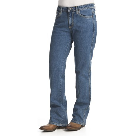 Specially made Basic Denim Jeans - 5 Pocket, Bootcut (For Women)