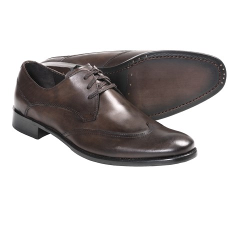 John Varvatos Star USA Dress Wingtip Shoes - Calfskin (For Men)