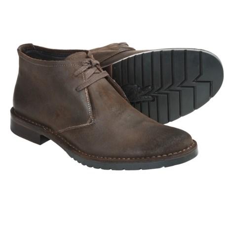 John Varvatos Star USA Driggs Chukka Boots - Waxed Calf Suede (For Men)