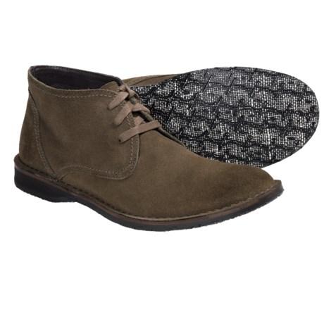John Varvatos Star USA Hipster Chukka Boots - Calf Suede (For Men)