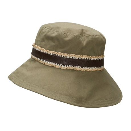 Sak Safari Chic Sunhat  (For Women)