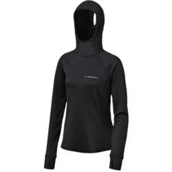Brooks Infiniti Hooded Shirt - Long Sleeve (For Women)