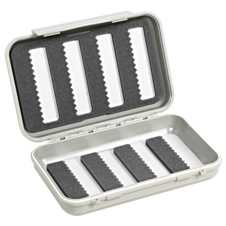 C & F Design 2544 Waterproof Fly Box - 8 Row, Medium