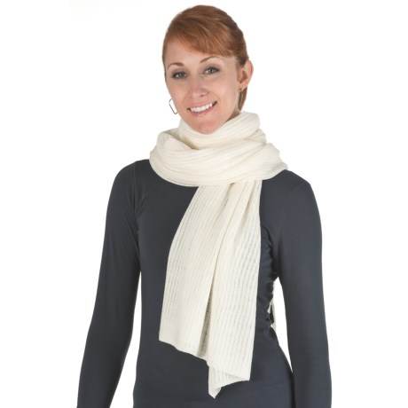 Emu Marcoola Knit Scarf - Merino Wool (For Women)