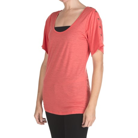 EMU Australia Emu Kioba Shirt - Merino Wool, Short Sleeve (For Women)