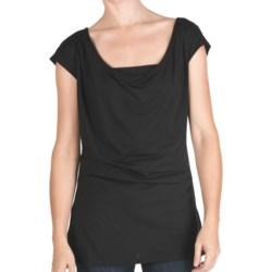 Emu Woonona Oversized T-Shirt - Merino Wool, Short Sleeve (For Women)