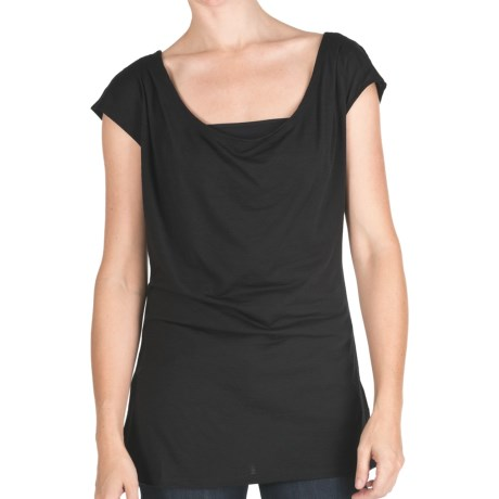 Emu Woonona Oversized T-Shirt - Merino Wool, Short Sleeve (For Women)