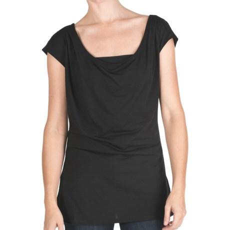 EMU Australia Emu Woonona Oversized T-Shirt - Merino Wool, Short Sleeve (For Women)