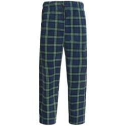 Sahara Club Microfleece Plaid Lounge Pants (For Men)