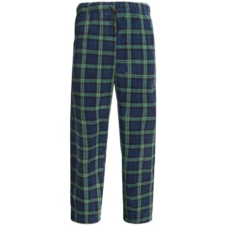 Sahara Club Microfleece Plaid Lounge Pants (For Men)